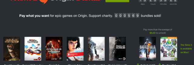 Humble Origin Bundle launches with Mirror's Edge, Crysis 2 | Ars