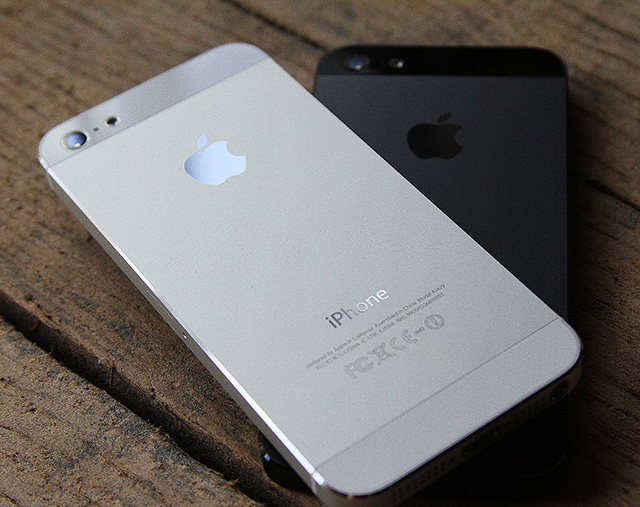 "Current rumors point to a speedier ""iPhone 5S"" that more-or-less resembles the iPhone 5, pictured here."
