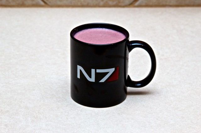 I'm Commander Shepard, and this is my favorite drink on the Citadel.