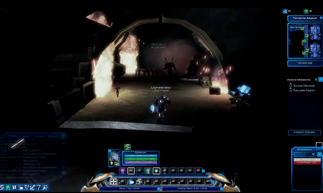 The working interface for <em>Starcraft Universe.</em>