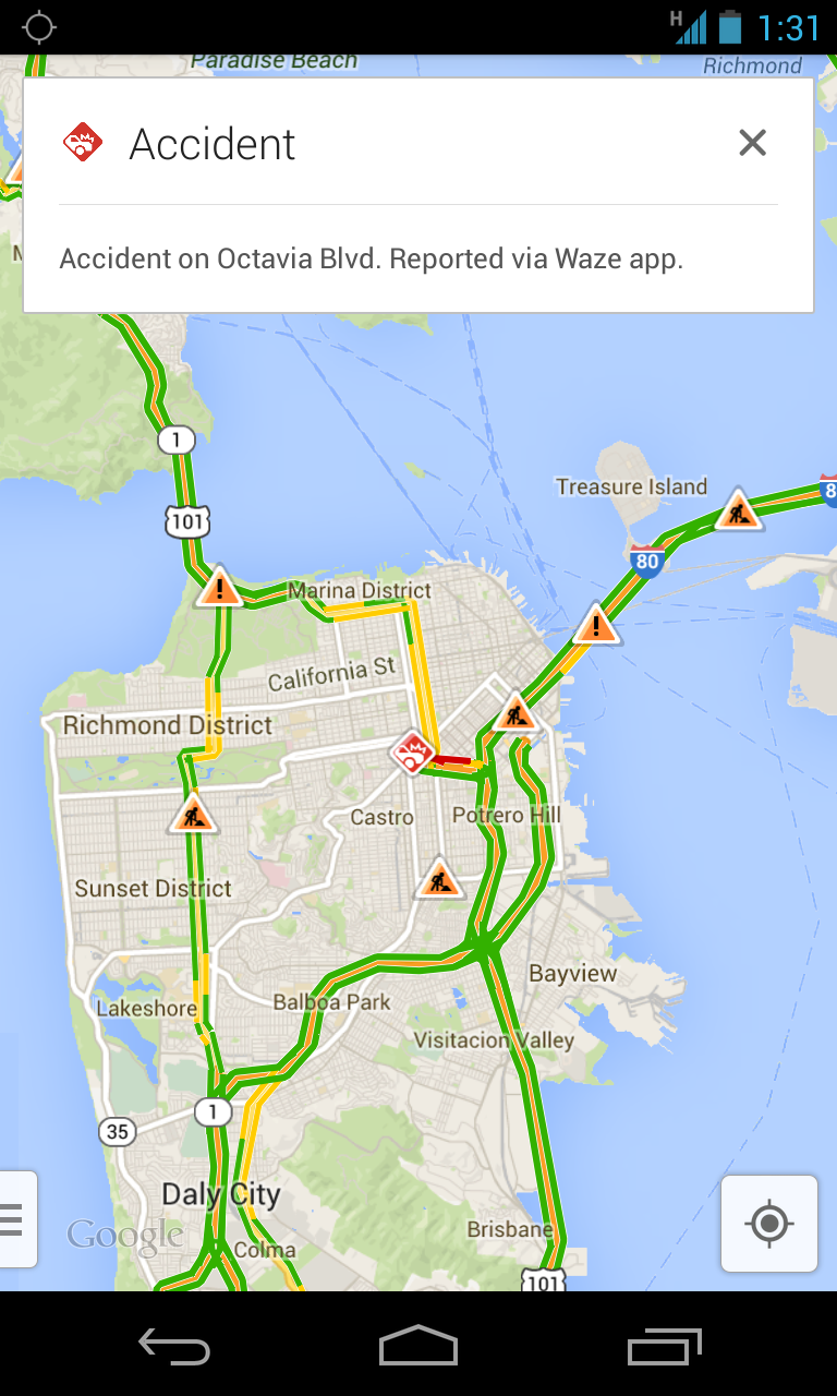 Google Maps and Waze start swapping data | Ars Technica
