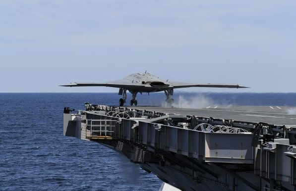 The X-47B is keeping a spot warm on the carrier deck for its UCLASS successor.