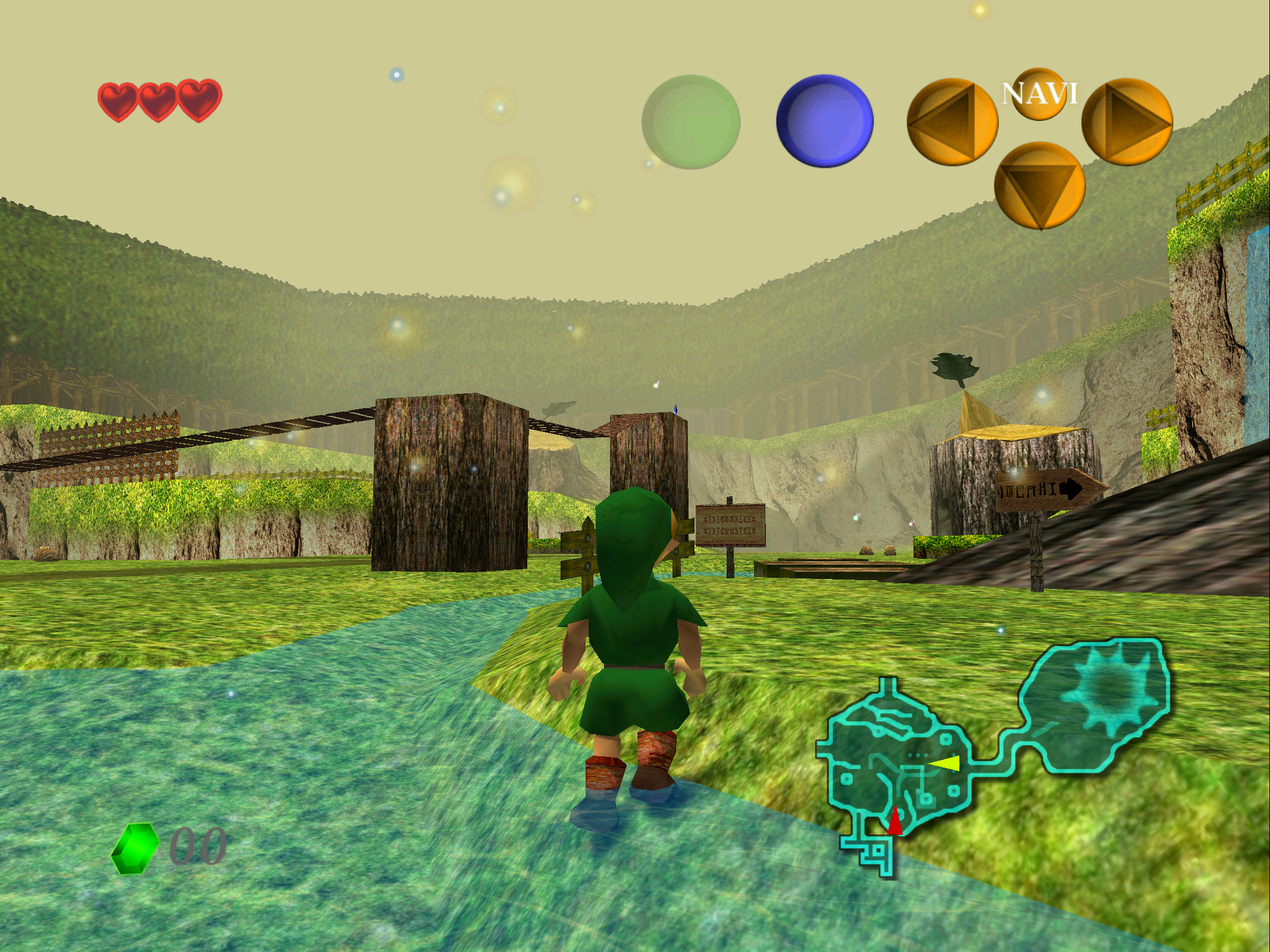 Rendered with HD texture packs on an emulator, <i>Ocarina of Time</i> is like a brand new game.