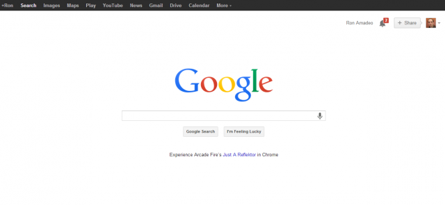 Change one character in the Google Search HTML and this will happen.