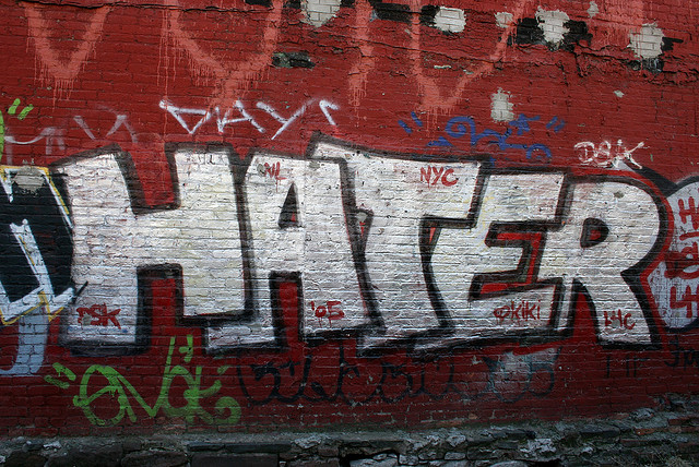 Weird Science quantifies just how much haters gotta hate