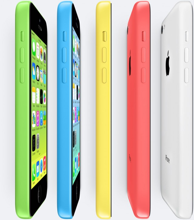 Apple announces the multicolor iPhone 5C, $99 for 16GB