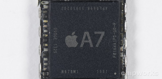 Chipworks: Apple's A7 is made by Samsung, M7 is indeed a separate chip