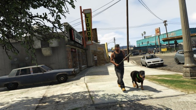 The game's treatment of dogs as faithful companions, at least, is spot on.