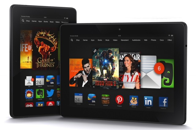 "Amazon announces 7"" 1920×1200 and 8.9"" 2560×1600 Kindle Fire HDX tablets"