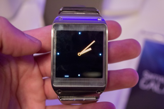 Hands-on with the Samsung Galaxy Gear