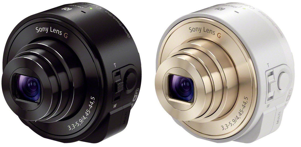 sony s wi fi camera lenses for your smartphone are finally official ars technica. Black Bedroom Furniture Sets. Home Design Ideas