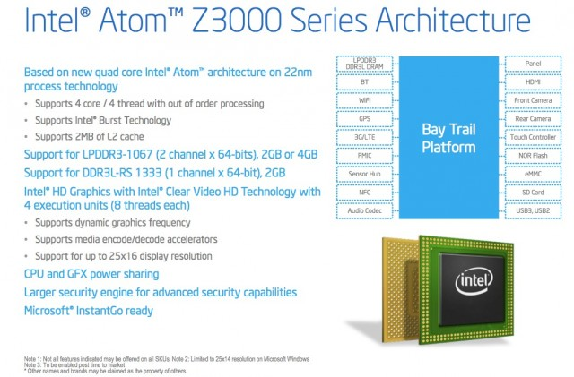 Intel's Atom CPUs finally get serious with the new Bay Trail architecture