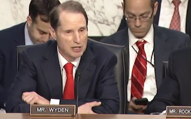 Sen. Ron Wyden is a critic of SESTA.
