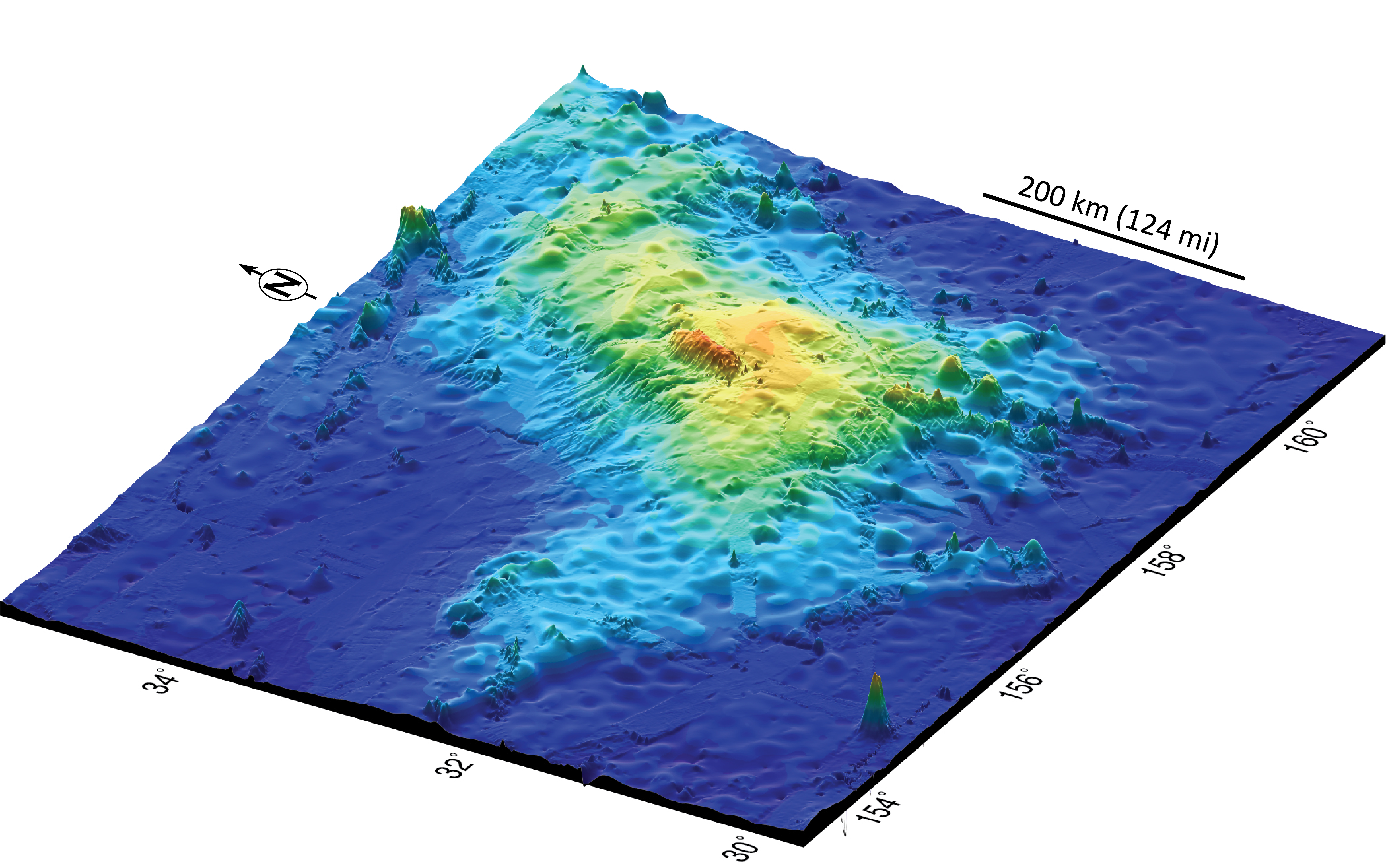 biggest volcano in our solar system - photo #32