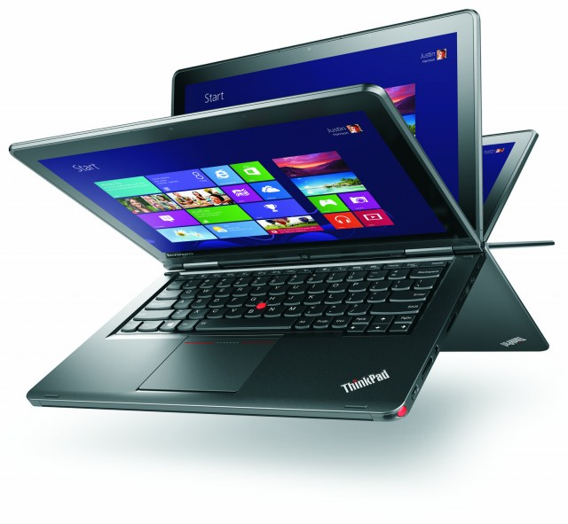 The ThinkPad Yoga is a bendy laptop that means business.