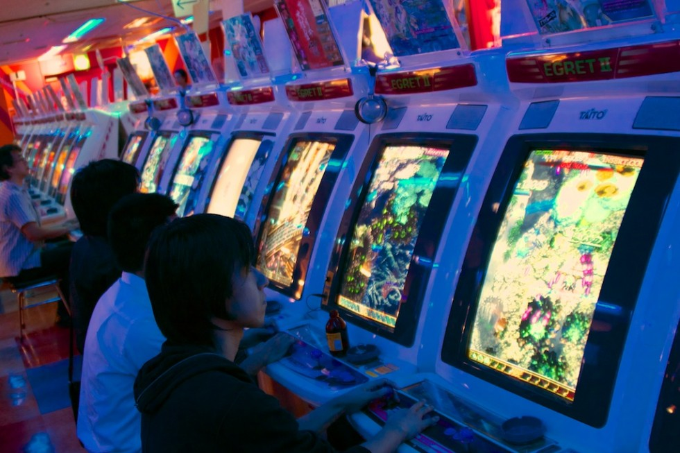 """The sheer amount of stuff going on in these """"bullet hell"""" shooters is enough to make most American gamers cry, but these arcade rats handled it like it was nothing."""