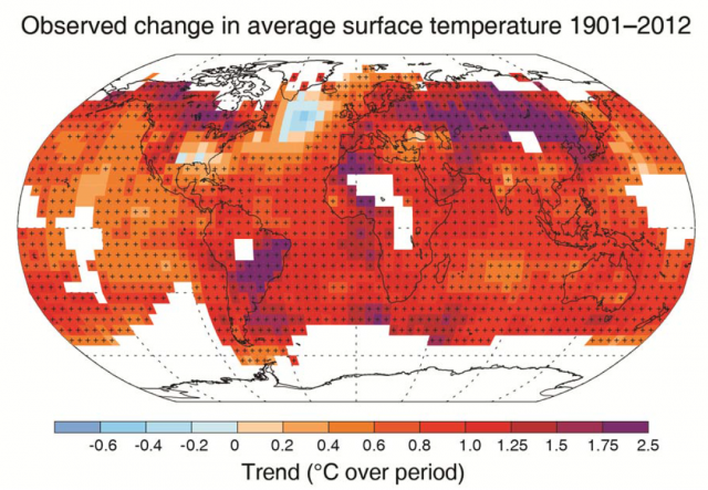 IPCC climate change report is out: It's warmer and we're responsible