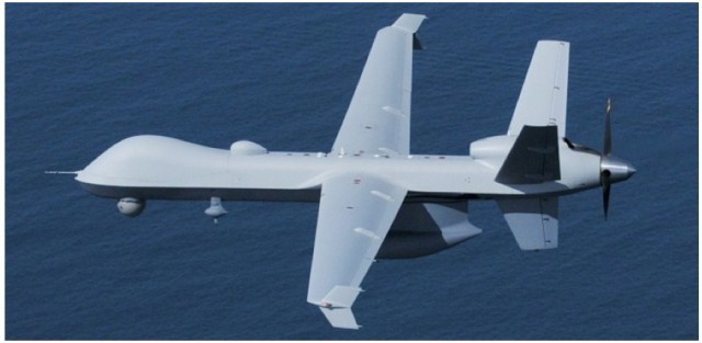 "Customs and Border Protection calls this MQ-9 Predator B unmanned aircraft system a ""strategic asset."""