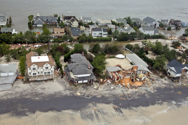 New Jersey coast after Sandy.