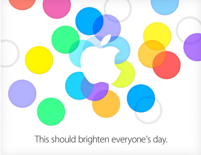 "Liveblog: Apple to ""brighten everyone's day"""