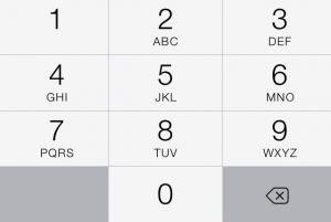 The number pad likewise sheds its previous texture.