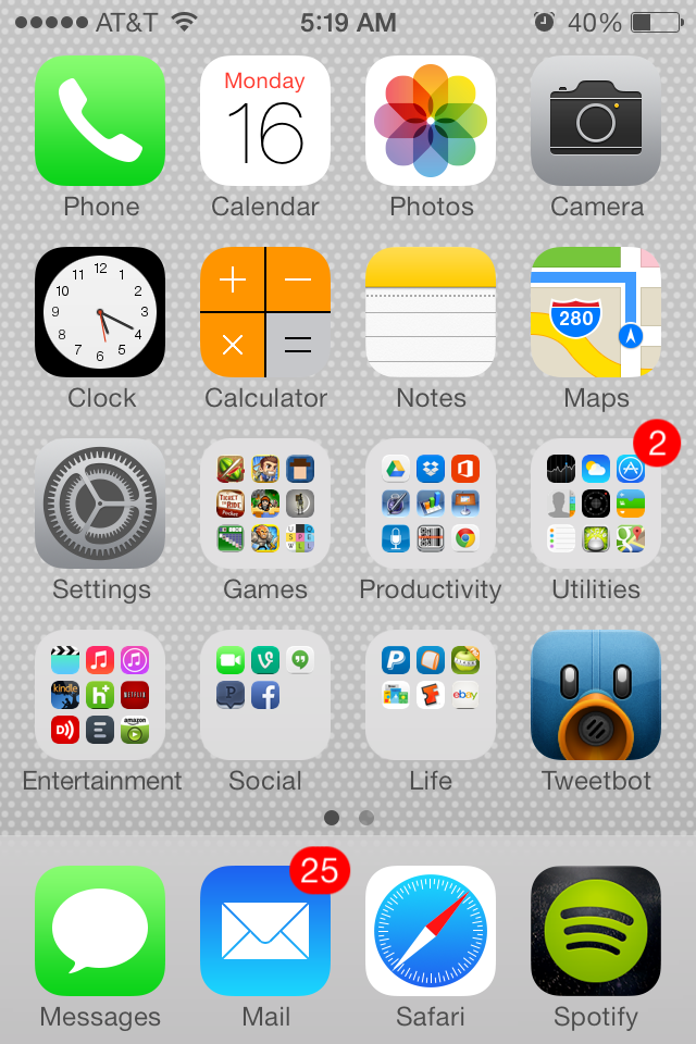 iphone home screen layout ideas - 45 unique iphone home screens ...