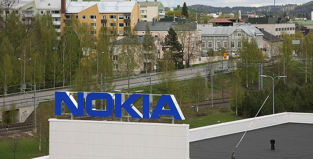 A Nokia building in Finland.