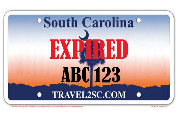 Advocates say that electronic license plates can be used to display messages, like EXPIRED.