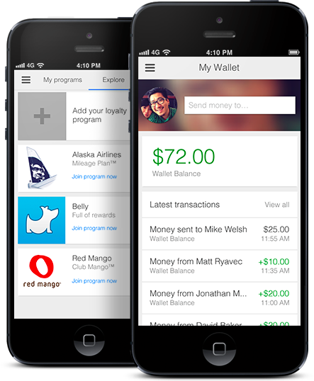 Google Wallet, now on iPhone