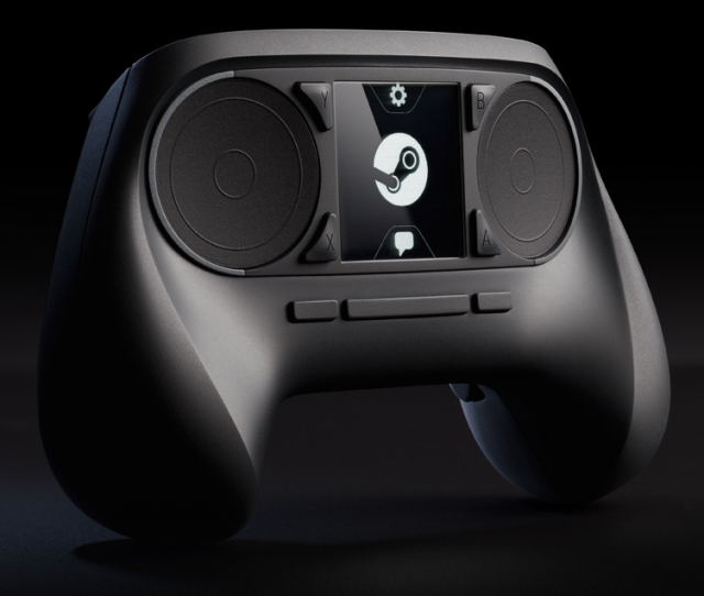 Valve unveils touchpad/touchscreen-enabled Steam Controller for living room