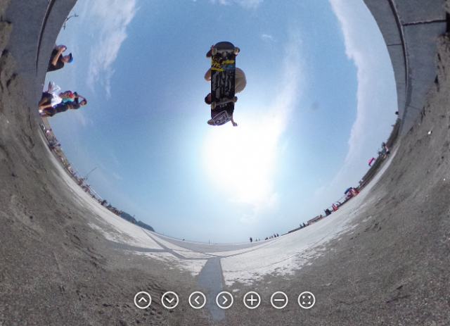 New camera captures 360º spherical shots with a single snap