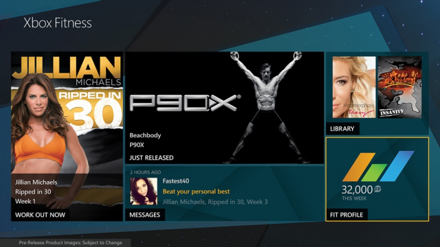 Microsoft wants you to work off your flab with Xbox Fitness
