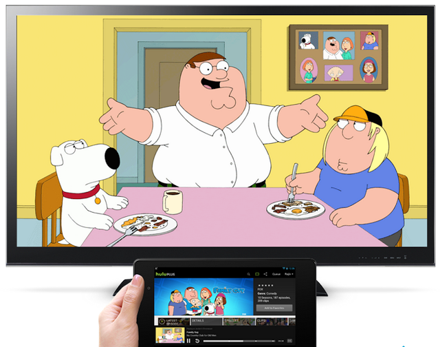 Hulu Plus now supports the Chromecast