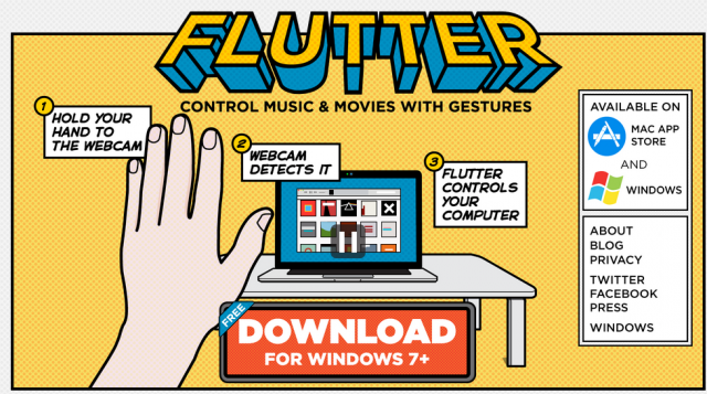 Hands-on with Google's latest acquisition: Flutter, a webcam gesture app