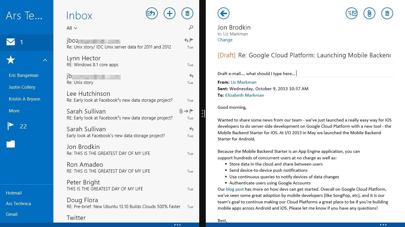 windows mail for windows 8.1