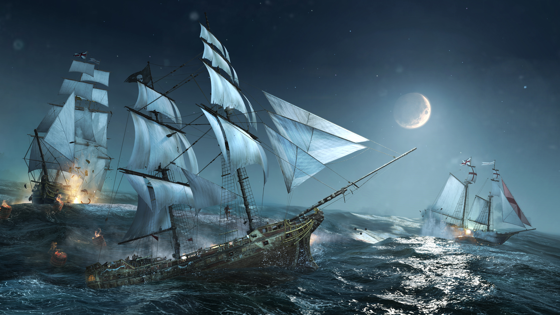 One new aspect of AC gaming: high-seas action.