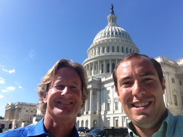 FindTheBest CEO Kevin O'Connor and Director of Operations Danny Seigle were in DC recently talking about their patent troubles.