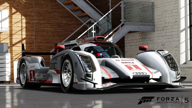 Audi R18 in <i>Forza 5</i>.