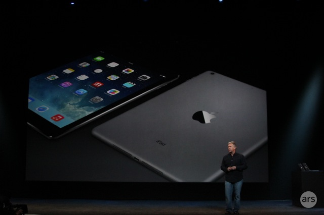 "Apple unveils redesigned 9.7"" iPad Air, available November 1"