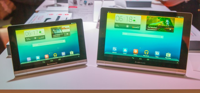 Hands on with the Lenovo Yoga Tablet: lopsided design and 18 hour runtime