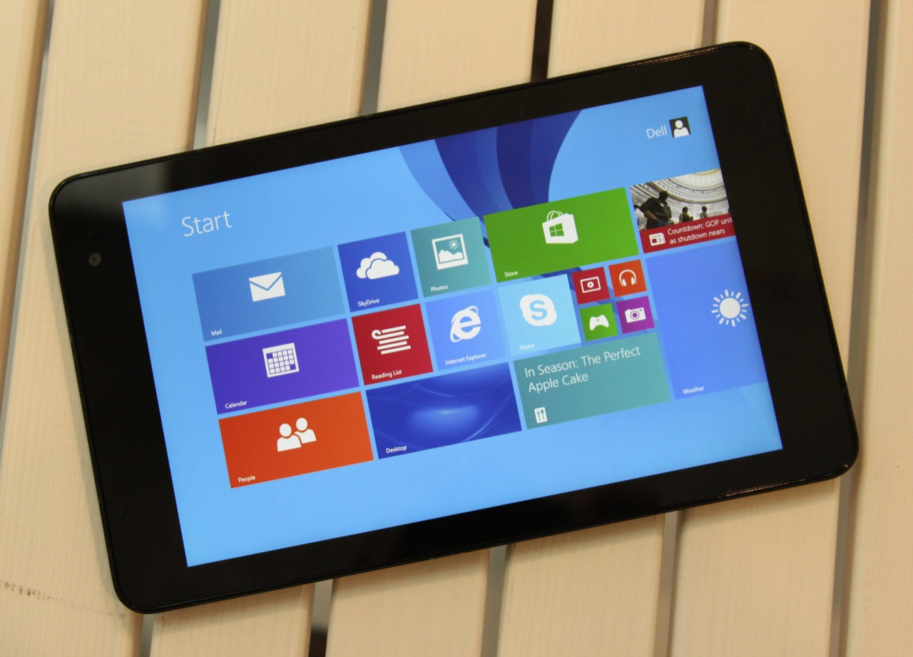Dell's Venue 8 has a great screen and can go toe-to-toe with Android or iOS tablets in thickness and weight.