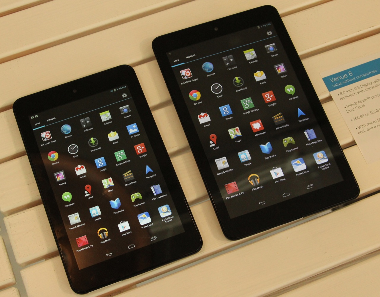 Hands-on: Dell ups its game with new Android and Windows 8 1 tablets