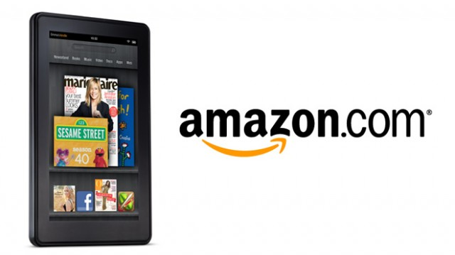The Kindle Fire tablet.