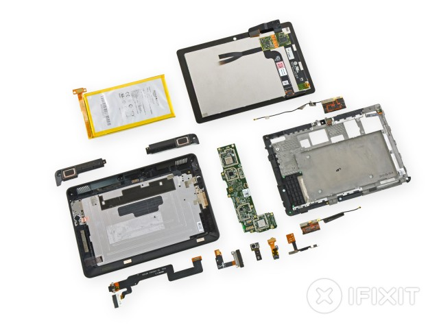 "Kindle Fire HDX 7"" gets the iFixit treatment"