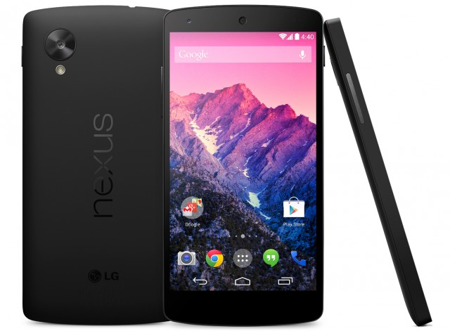 Google officially announces the Nexus 5 and Android 4.4 KitKat