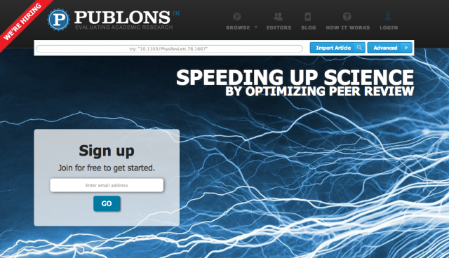 Sites like Publons and PubPeer hope to quicken the pace of scientific conversation.
