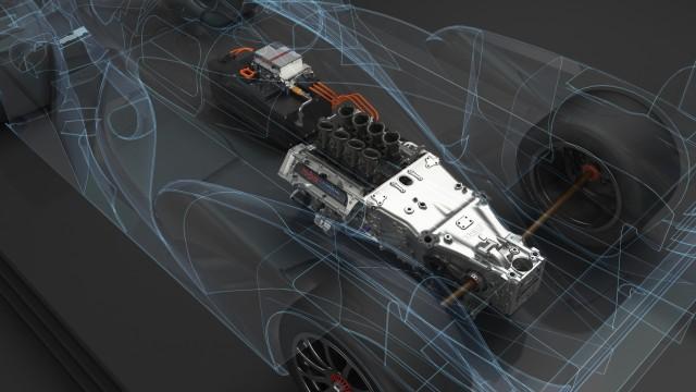 Toyota's hybrid system.