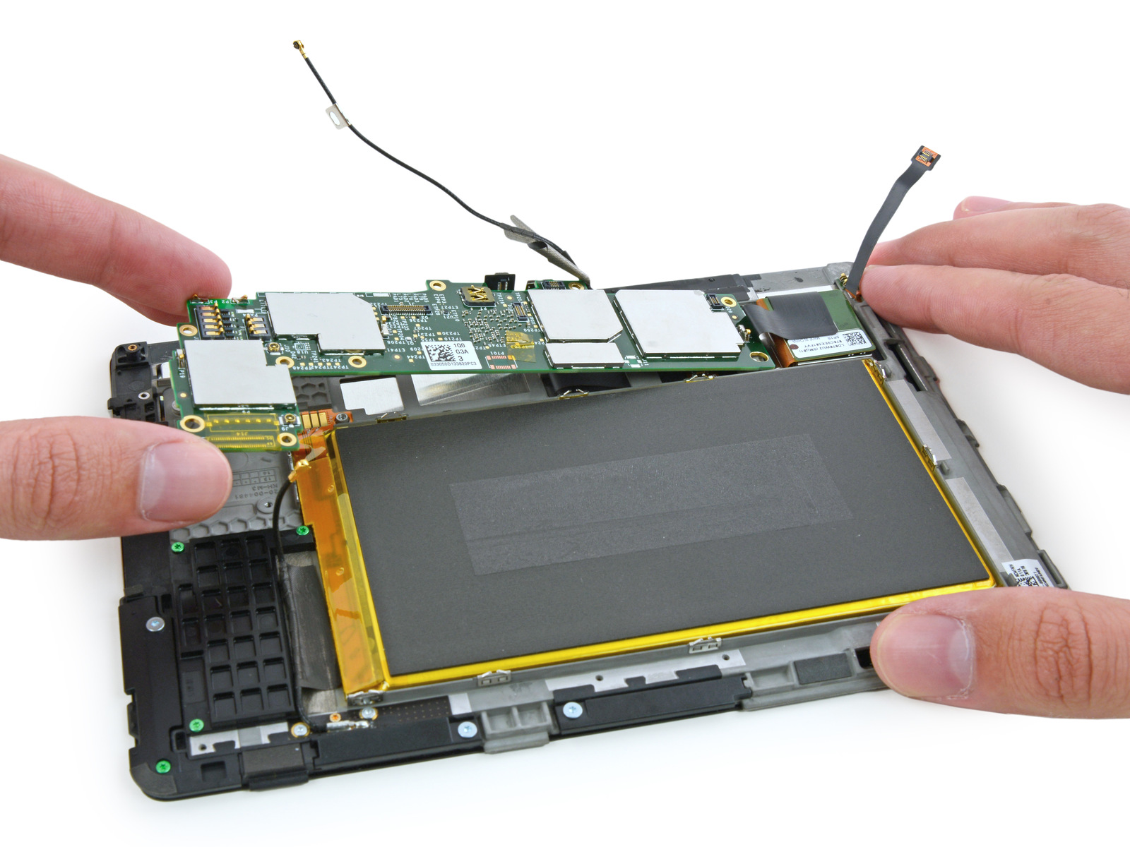 "Kindle Fire HDX 40"" gets the iFixit treatment   Ars Technica"
