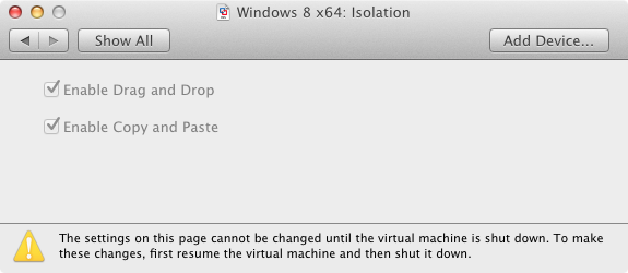 This is one thing that VirtualBox had for a while.