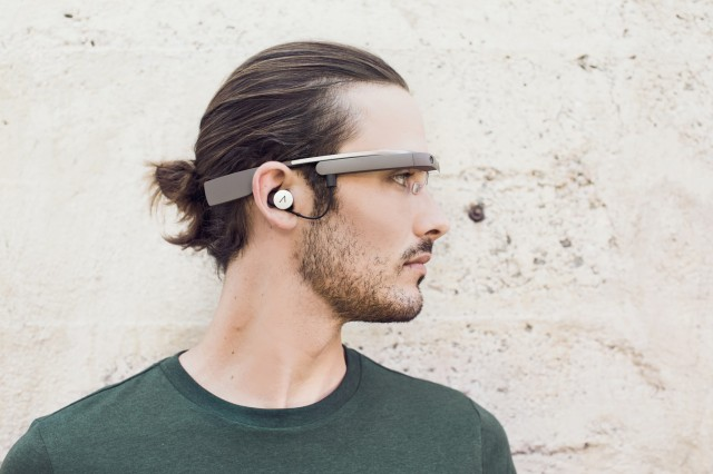 Google shows off new version of Google Glass, complete with earbud
